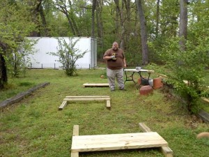Building a raised bed #1
