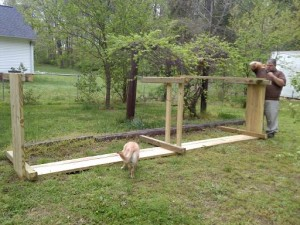 Building a raised bed #2