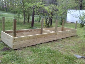Building a raised bed #3