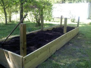 Building a raised bed #4
