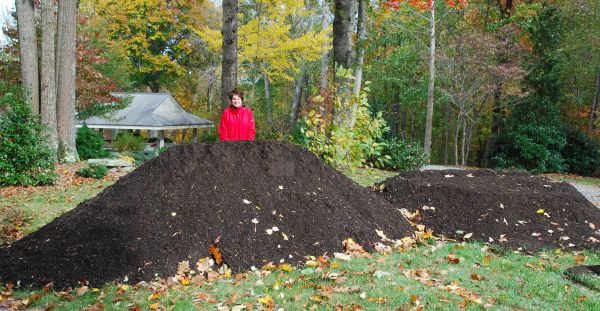 10 yards of compost is a great start for any garden!